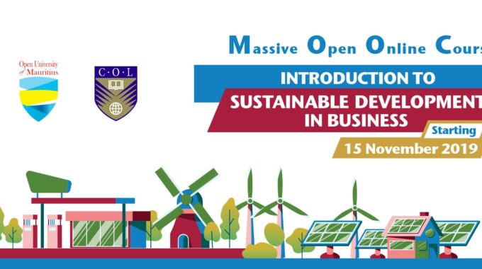 Second Offering Of MOOC On Introduction To Sustainable Development In Business Starts November 15