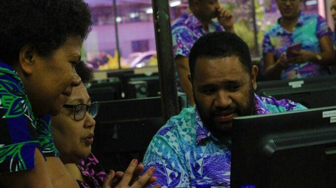 Workshop On EModeration At Fiji National University